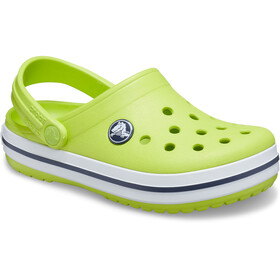 Crocs Crocband Clogs Niños, lime punch